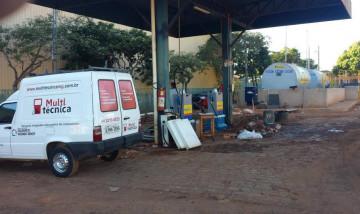 Instalação de postos de combustíveis